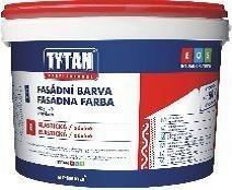 Акриловая фасадная краска TYTAN Е158 база А (10 л. )