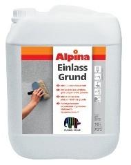 Акриловая грунтовка для наружных и внутренних работ Alpina EINLASSGRUND.