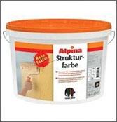 Акриловая краска КАПАРОЛ Strukturfarbe Alpina (16кг)