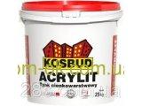 Фото  1 Акриловая штукатурка машинного нанесения Акрилит/Acrylit -N структура барашек 1,5 мм 2302451