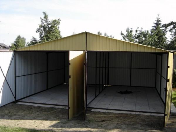 Железные гаражи своими руками