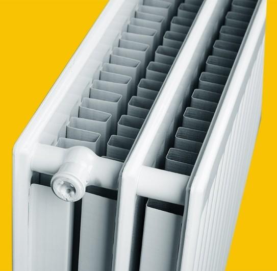 Акция! Радиатор TYPE33 H500 L500, 20,60кг, обогреет 8,3м2, 992Вт. Новая цена 1890грн.
