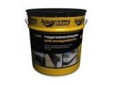 Мастика Аквамаст для гидроизоляции фундамента, бетона, деревянных конструкций Aquamast фундамент, 10 кг
