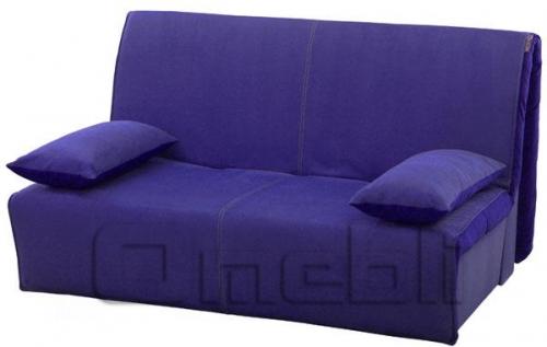 Акварель Аккордеон диван Микрофибра фиолет A32171