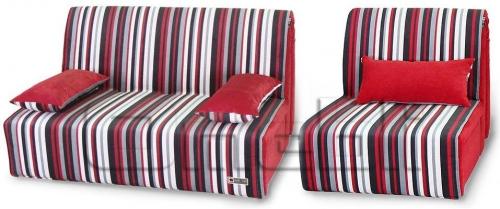 Акварель Аккордеон комплект (диван кресло) Ткань Рим рея 3 A32236