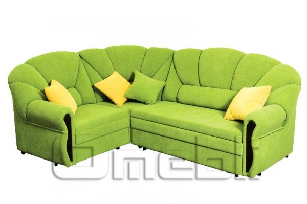 Алиса Угловой диван ткань кордрой 415 Код A101281