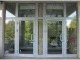 Фото 2 ✪ Двери входные алюминиевые ✪ Входные группы из алюминия Фабрика Анко 2423