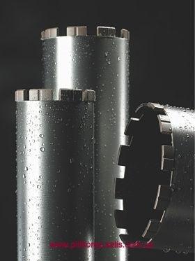 Алмазная коронка 200 длина 450 мм хвостовик 1 1/4 Восстановление алмазных коронок. Напайка сегментов.