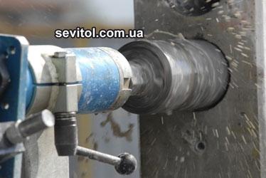 Алмазная сверлильная машина HCCB-7s, 7.5 кВт, сверление до 500 мм в ж/бетоне