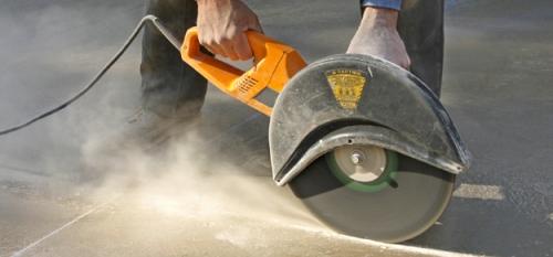 Алмазорезание бетона без пыли. Киев