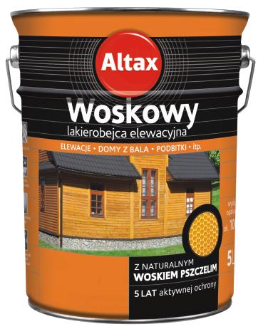 Altax Woskowy Алтак восковой Лак для фасадов 5л