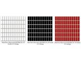 Altea Bianco, Nero, Rosa (byszczca) MOZAIKA 30 x 30 - pytki uniwersalne (kostka 2,3 x 4,8)