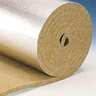 Alu Lamella Mat - мат из базальтовой ваты с покрытием из алюминиевой фольги.