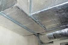 Алюфом НПЕ самоклейка изоляция воздуховодов, дымоходов, теплоотражающая изоляция. Пенофол. Изолон