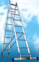 Алюминиевая двухсекционная лестница