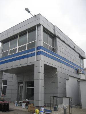 Алюминиевая композитная панель TOYO, 1220х5800, покрытие PE, пластик - 0,15мм