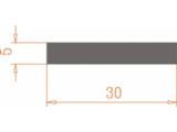 Алюминиевая полоса 30*5 / AS