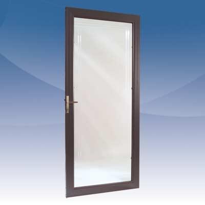 Алюминиевые двери из теплого и холодного профиля. Распашные, маятниковые, раздвижные, автоматические т. д