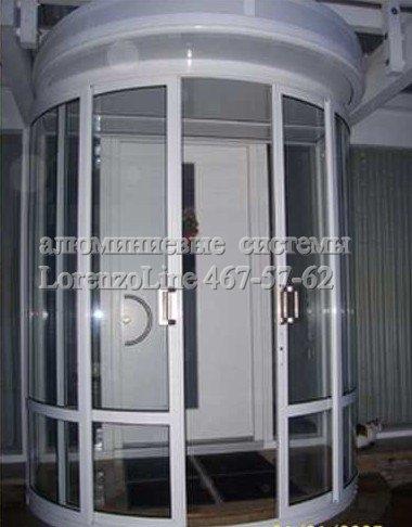 """Алюминиевые двери: распашные, раздвижные. В """"холодном"""" и """"теплом"""" исполении с различным заполнением."""