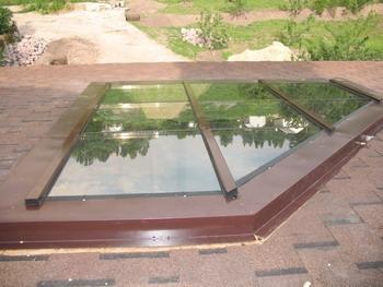 Алюминиевые косоугольные окна