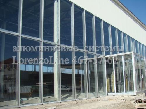 Алюминиевые окна, двери, входные группы, фасадное остекление, перильные ограждения