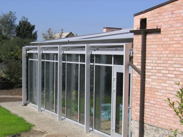 Алюминиевые окна, зимние сады