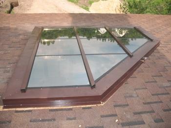 Алюминиевые прямоугольные окна