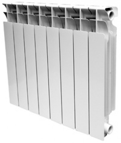 Алюминиевые радиаторы Alltermo 500/85 Значение PH в пределах 16-25 Испытательное давление – 24 атм