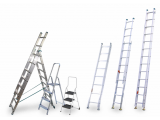 Алюминиевые трехсекционные лестницы(алюминиевая лестница стремянка лестницы стремянки)