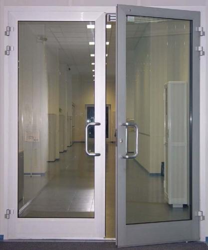 Алюминиевые внутренние двери из холодного профиля