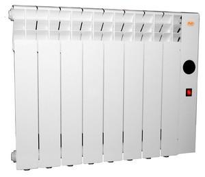 Алюминиевый электроотопительный радиатор «РИО» 8 секций