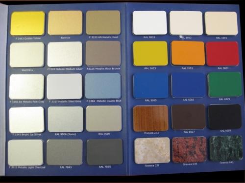 Алюминиевый композитный лист ALUFAS 4/0,5 Г1