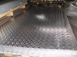 Алюминиевый лист 1,5х1000х2000 АД0 рифлёный