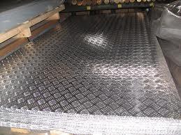 Алюминиевый лист 3х1000х2000 АД0 рифлёный