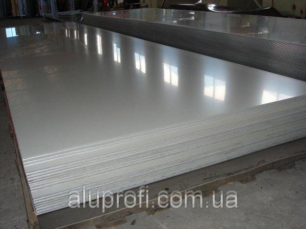 Фото  1 Алюминиевый лист 4,0мм (1,25х2,5м) 5754 Н22 1662765