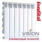 Алюминиевый радиатор Fondital Vision 500/100 (Италия)