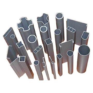 Алюминиевый стандартный профиль - уголок, тавр, квадратная труба