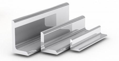 Алюминиевый уголок неравнополочный АД31
