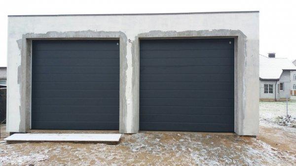 Ворота гаражные секционные Алютех в Борисполе