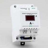 Амперметр цифровой в корпусе для крепления на DIN-рейку (0,0-99,9А) АМ-100/D01