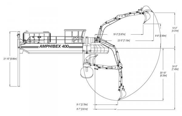 AMPHIBEX AE 650E