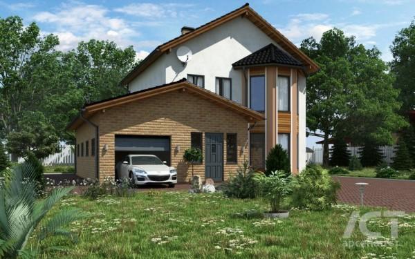 Анатолий - проект индивидуального дома