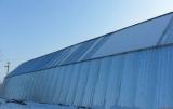 Ангары из металла 0.5мм, 0.7мм, 1.2мм, 2мм. Любые размеры. Доставка и сборка в любой город Украины.