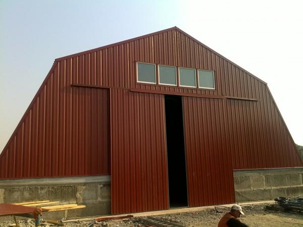 Ангары, коттеджи, пристройки из легких стальных конструкций, проектирование проектов.