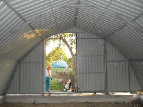 Ангары, мини-ангары, гаражи. Скидки 5 - 8 % до 31. 04. 2012 года