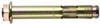 Анкер втулочный с отбортовочной гайкой (цена за 100 шт. ) Размер 10 х 85