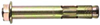 Анкер втулочный с отбортовочной гайкой (цена за 100 шт. ) Размер 14 х 250