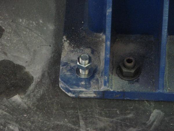 Анкеры для надежного крепления оборудования.