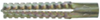 Анкерный дюбель для монтажа в пористых материалах (цена за 100 шт. ) Размер 8 х 60