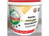 Фото  1 Ансерглоб Структурная краска акриловая Gazobeton * Ведро 28 кг. 2162893